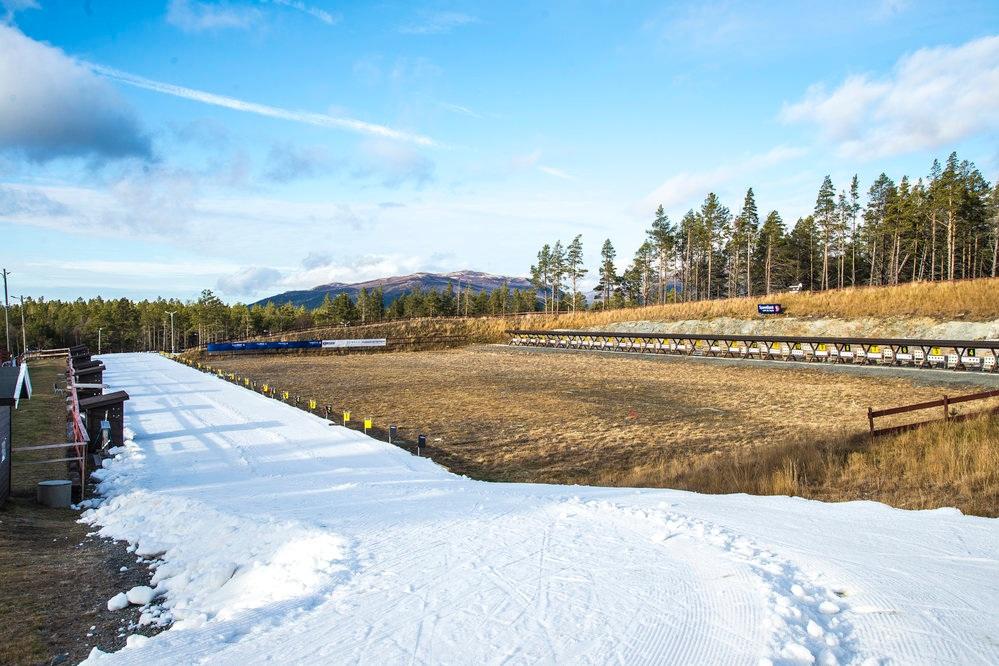 Dombås skiarena - Arenaen, som ligger 500 meter fra Trolltun, er normalt ett av de første stedene i Norge som får langrennsløyper.
