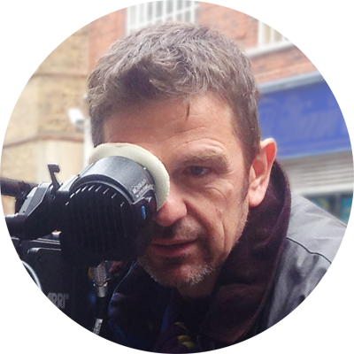 Michael O'Halloran has been making films for 30 years.  He directs for Flutterby Films, the BBC and Warner Music and works as Director of Photography for the BBC, Sky Arts and ITV.  He is the creative force at the heart of Flutterby. -