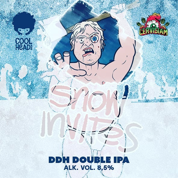 New beer release this weekend!  This Finnish x Norwegian Collaboration Double Dry Hopped Double IPA is just another stupid juice bomb that is probably something you shouldn't be pounding can after can. How could you resist though - being so nice and yummy with a silky smooth texture and with colossal amount of that fresh juicy hop aroma and flavor. The Snow Invites.  Available from the Korjaamo Craft Beer Garden on this Friday, and also on Friday from the brewery in cans to buy home!