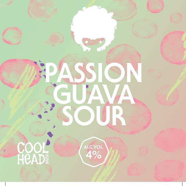 Fresh cans of Passion Guava Sour 4% available to buy home from the brewery today until 18.00 with plenty of others. 3€/can!