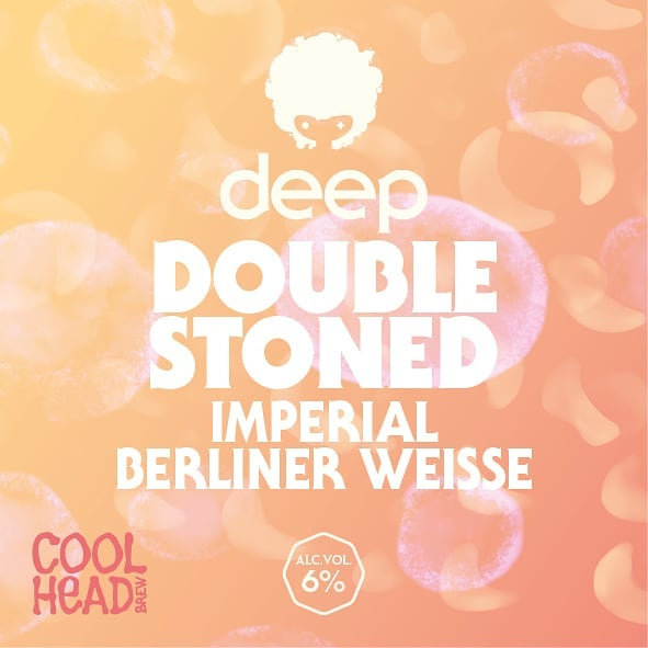 Releasing new DEEP series beer today!  This Nordic Sour is double stone fruited with peaches & apricots and it's literally like eating peach marinated apricots. We also added our usual chunk of oats for extra body & this time also some milk sugar to give it that full creamy mouthfeel.  Think sour peach candies - this beer is peach candies all over the place! 🍑🍑🍑 Available from the brewery in cans today at 14-18 + on tap from several bars that will be announced later.