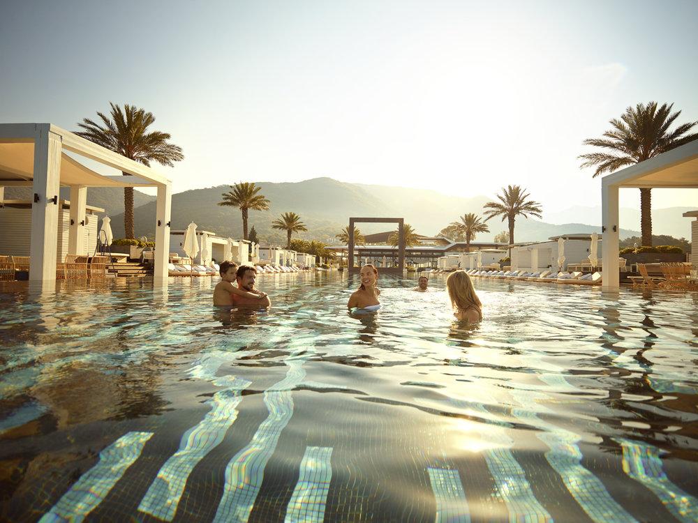 Pool Club - matt aspiotis morley concept development - creative real estate consultancy - for porto montenegro