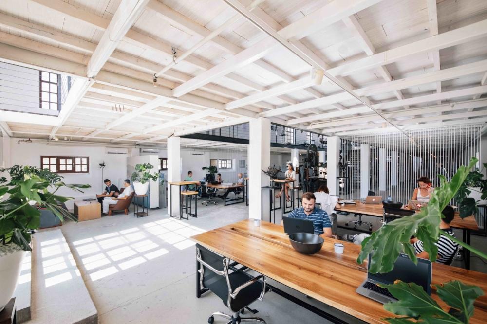 Coworking office - matt aspiotis morley concept development - creative real estate consultancy - for porto montenegro