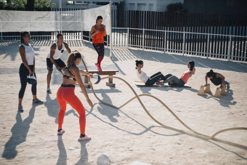 biofit outdoor gym design
