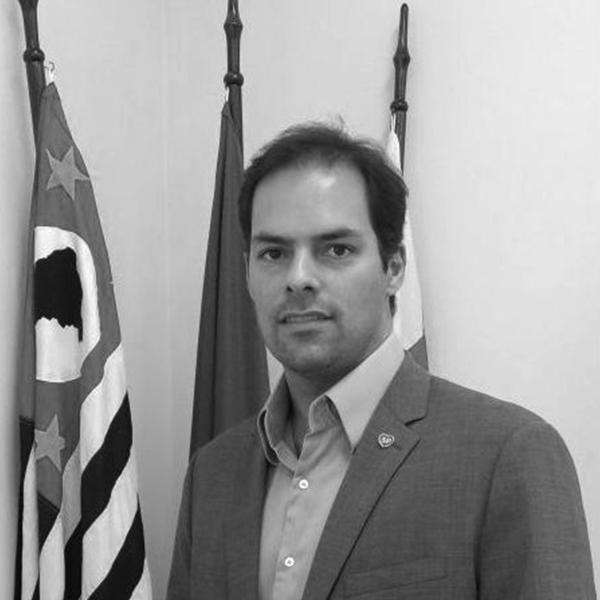 <b>Paulo Uebel</b></br>Secretário Municipal de Gestão</br>Prefeitura de São Paulo</br><i>Dia 17 - 12h15</br>Palco Atualização</i></br></br>
