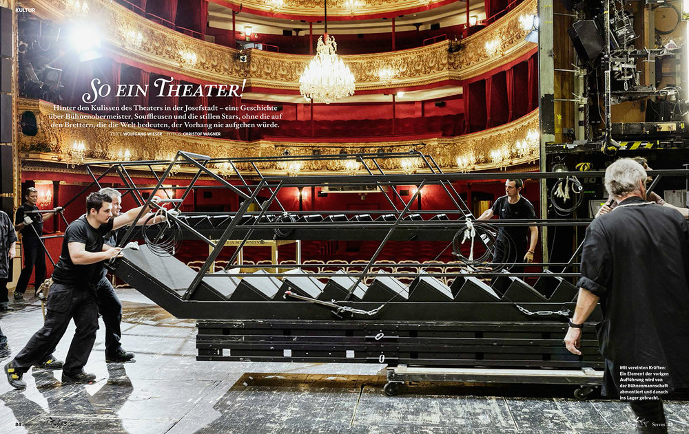 """""""So ein Theater"""" / SERVUS WIEN"""