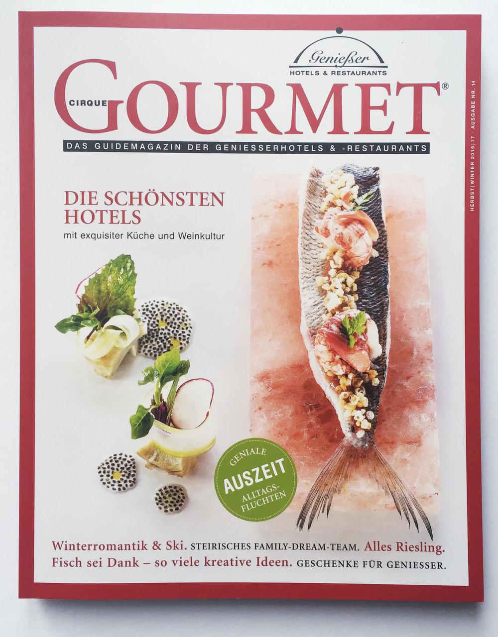 Cirque Gourmet Cover 2016/17