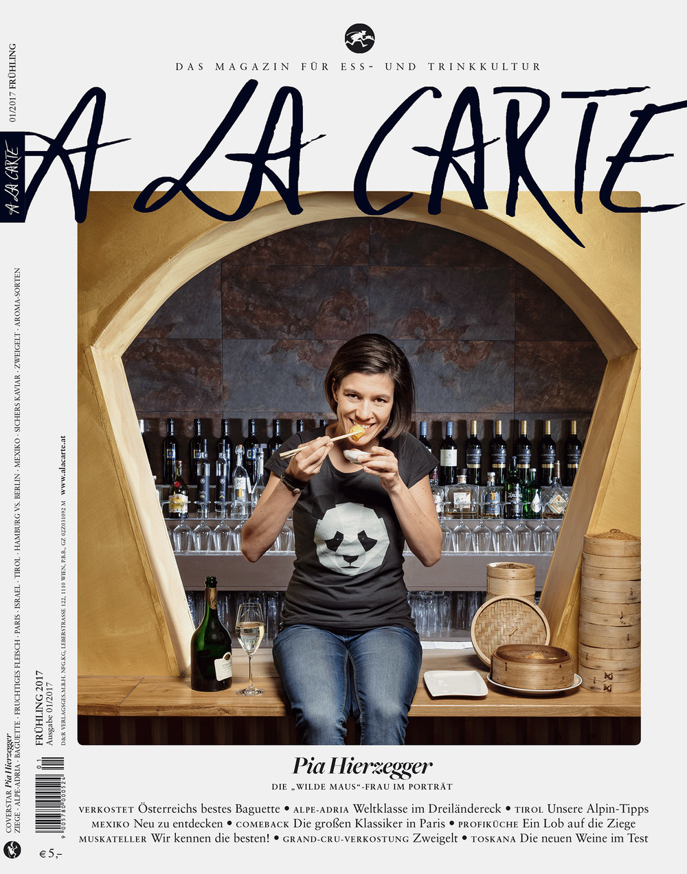 A LA CARTE / Coverstory mit Pia Hierzegger, Frühling 2017