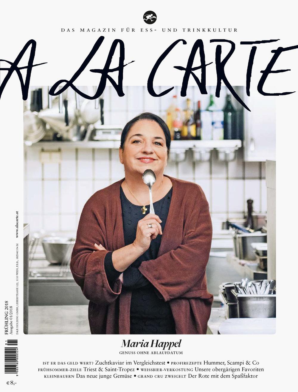 Coverstory mit Maria Happel / A LA CARTE