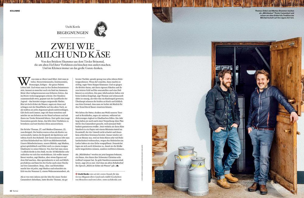 Portrait und Reportage / SERVUS