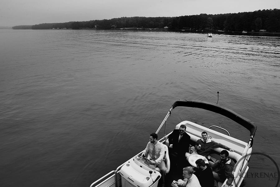 Guys arriving via boat.