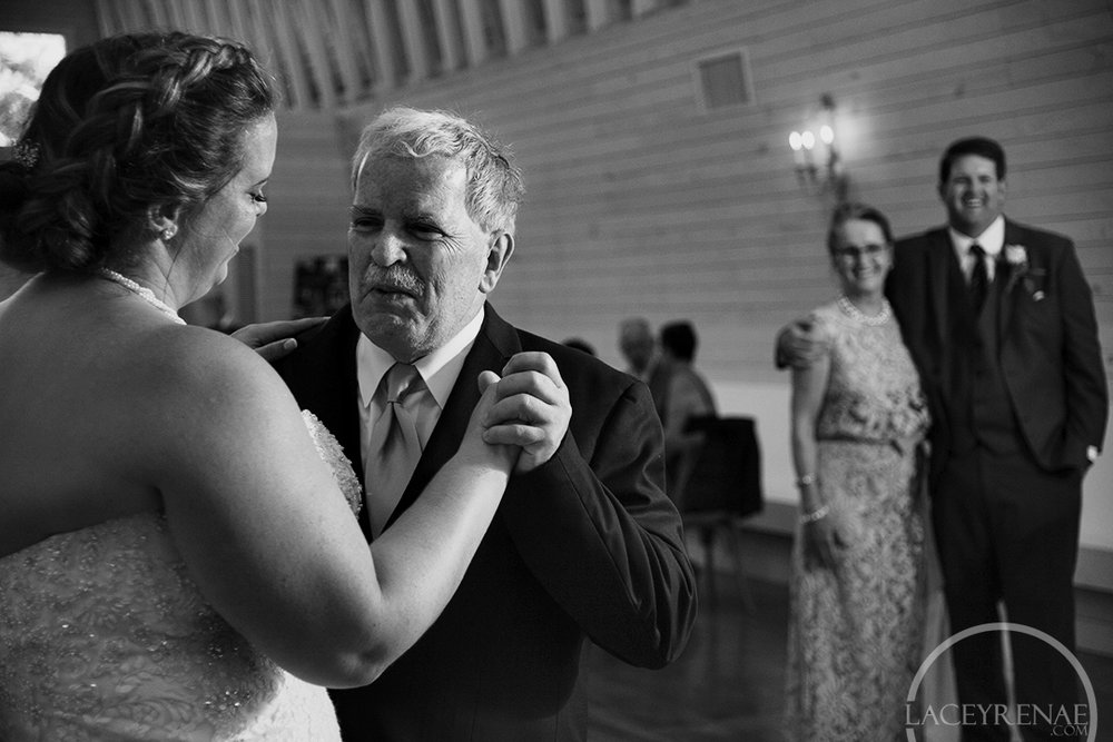 I love capturing the other half watching their new spouse dance!