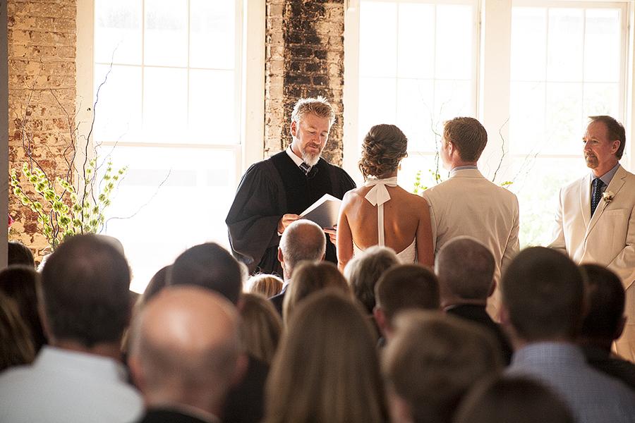 Stockroom Wedding Ceremony