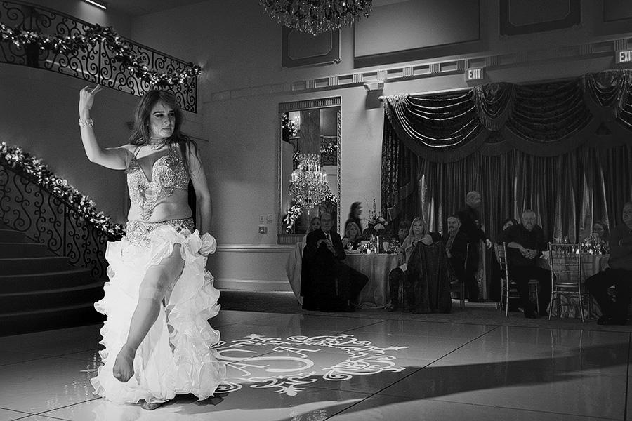 Belly Dancer Wedding entertainment
