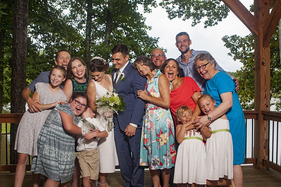 Fun family wedding photography. I adore them.