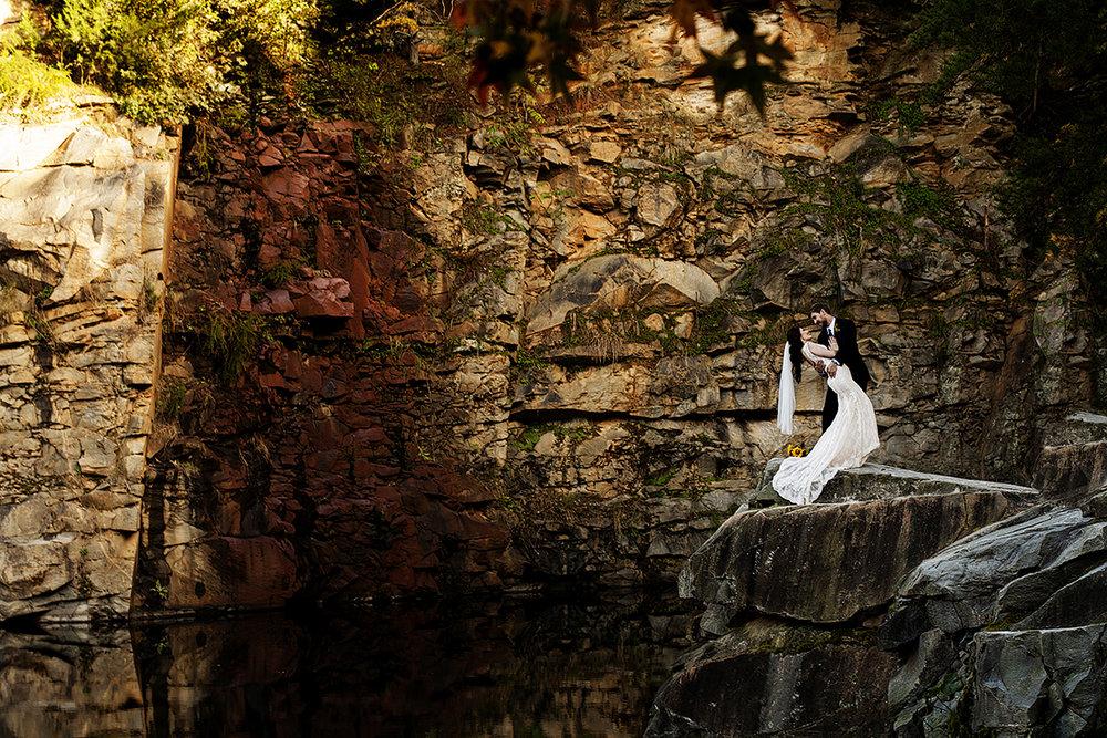 quarry_wedding_dip_shot
