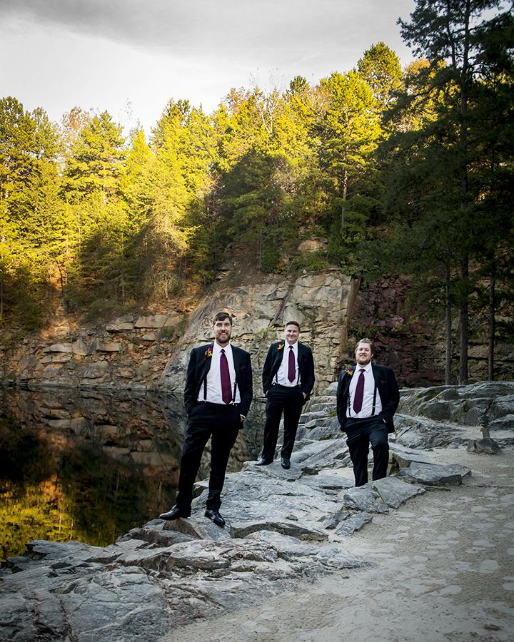 groomsmen_rockquarry_nc