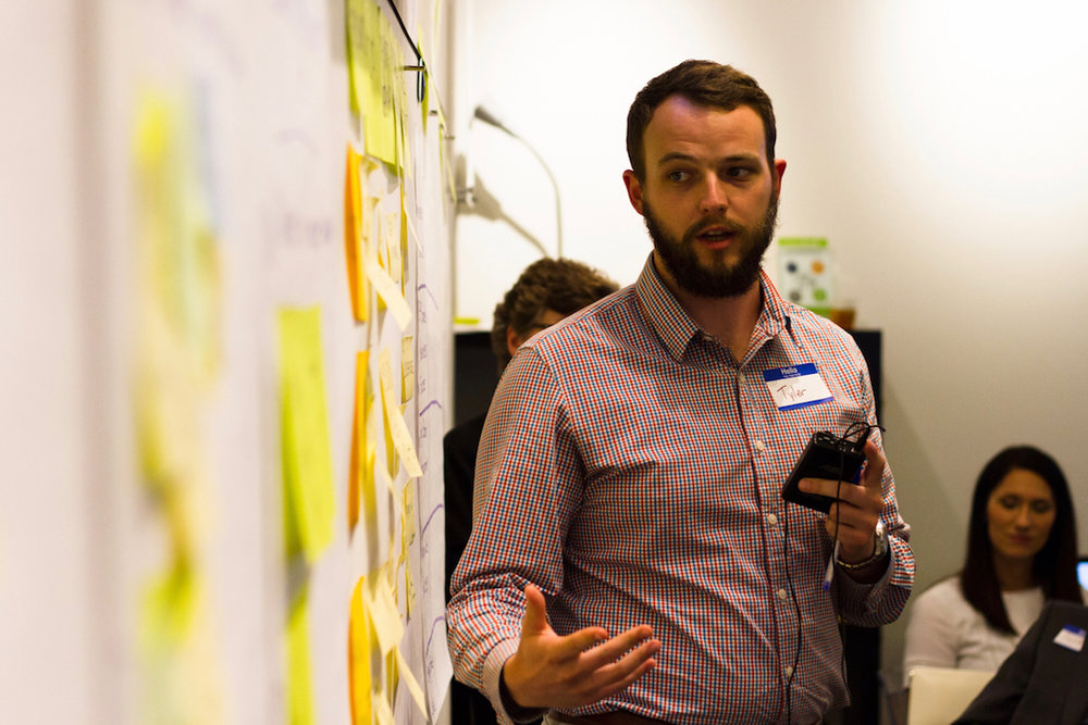 Design Thinking Master Class - April 23-24, 2019 from 8:00 am - 5:00 pm both days2-Day Immersion WorkshopTake your skills to the next level and learn how to mobilize design thinking capabilities in your company. The Design Thinking Master Class will equip you with the knowledge, skills, tools, and practice you need to become a resource and champion for innovation within your organization.You'll discover and leave with:- Certifications to facilitate both the ExperienceInnovation™ | Aware and the ExperienceInnovation™ | Learn workshops - Understanding of tools like SprintBase™, a new online design sprint platform for teams- In-depth knowledge and best practices to deepen your design thinking expertise- Ideas on how to leverage these tools as part of your current or future innovation services- Readiness to apply the design thinking innovation process on real business projects- Confidence to be a strong in-house resource and support for your people to create new, innovative solutionsAfter the Design Thinking Master Class:We will have regular webinars and optional one-on-ones to help you continue on your innovation journey.Have questions? Contact Bridge Innovate's Collin Young.