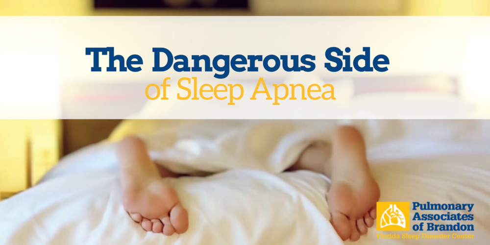 dangerous side of sleep apnea