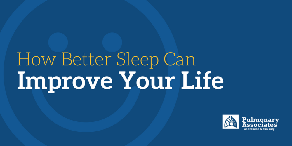 sleep center benefits