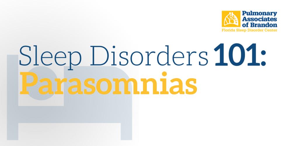 Parasomnias, sleep disorders