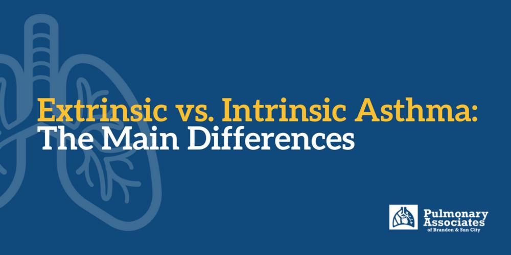 Extrinsic vs. Intrinsic Asthma: The Main Differences, Asthma types, allergic and non-allergic asthma