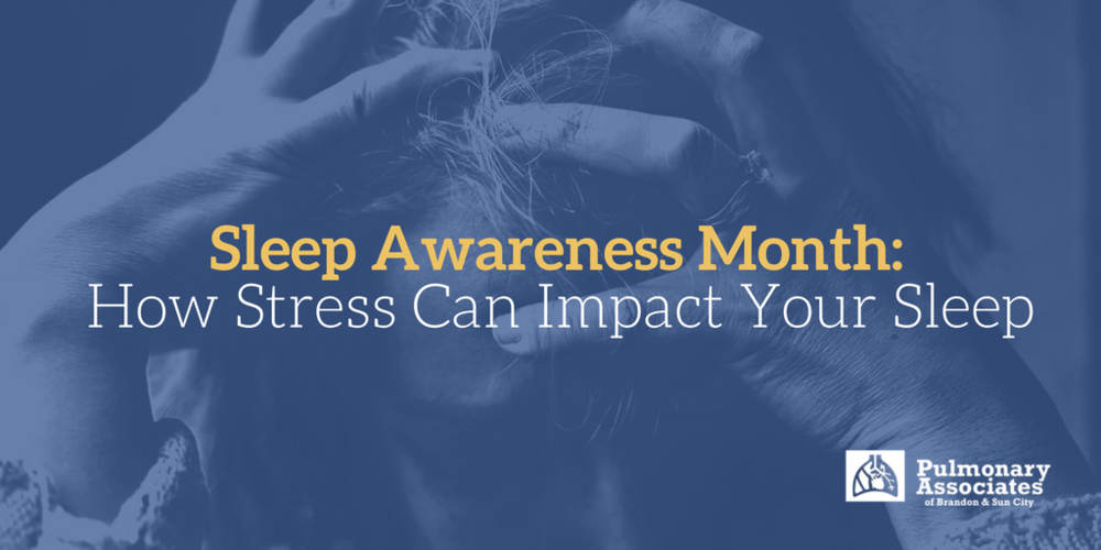 stress awareness month, what is hyperarousal, stress and sleep,