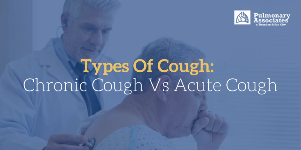 chronic cough, types of cough, chronic cough causes,
