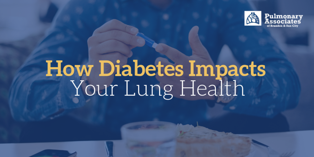 how diabetes impacts your lung health