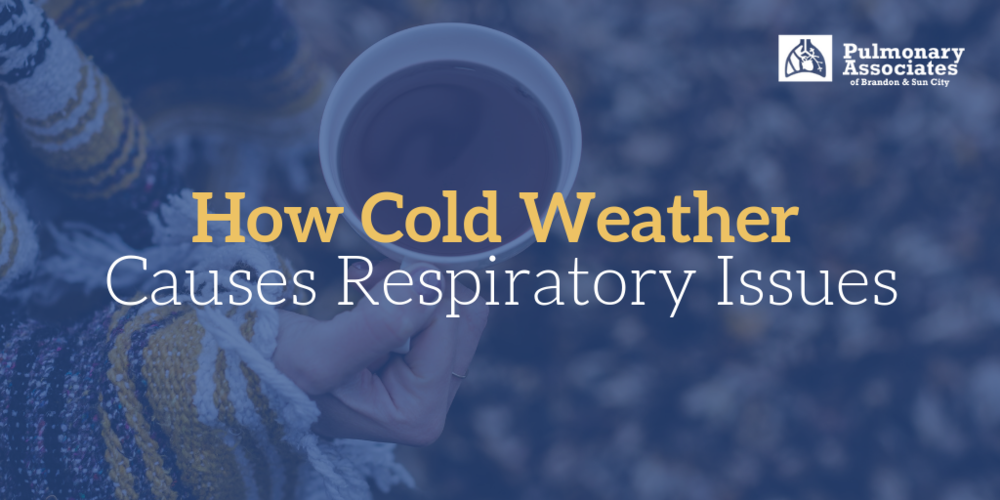 how cold weather causes respiratory issues, cold weather and asthma, cold weather pulmonary problems