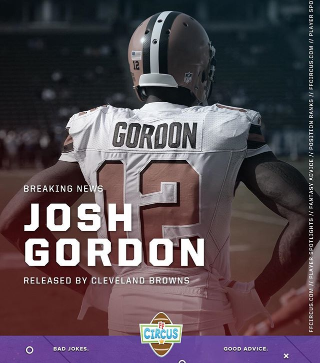 There's an old saying in Tennessee — I know it's in Texas, probably in Tennessee — that says, fool me once, shame on....shame on you? Fool me — you can't get fooled again. After six long years the #Browns finally divorced troubled WR Josh Gordon