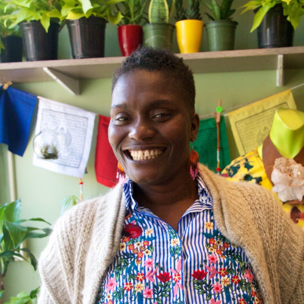 Khadija Tudor, Bed Stuy healer & traphouse discoverer -  Photo by Brittney M. Walker