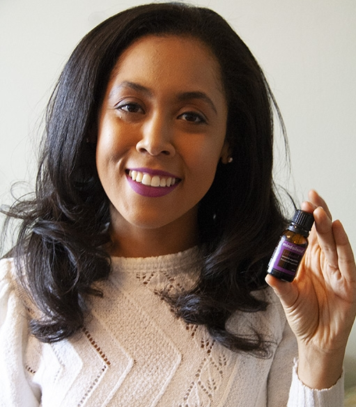 Bria Bailey, creator of MindOilSoul, a boutique essential oils company. -  Photo by Britney M. Walker