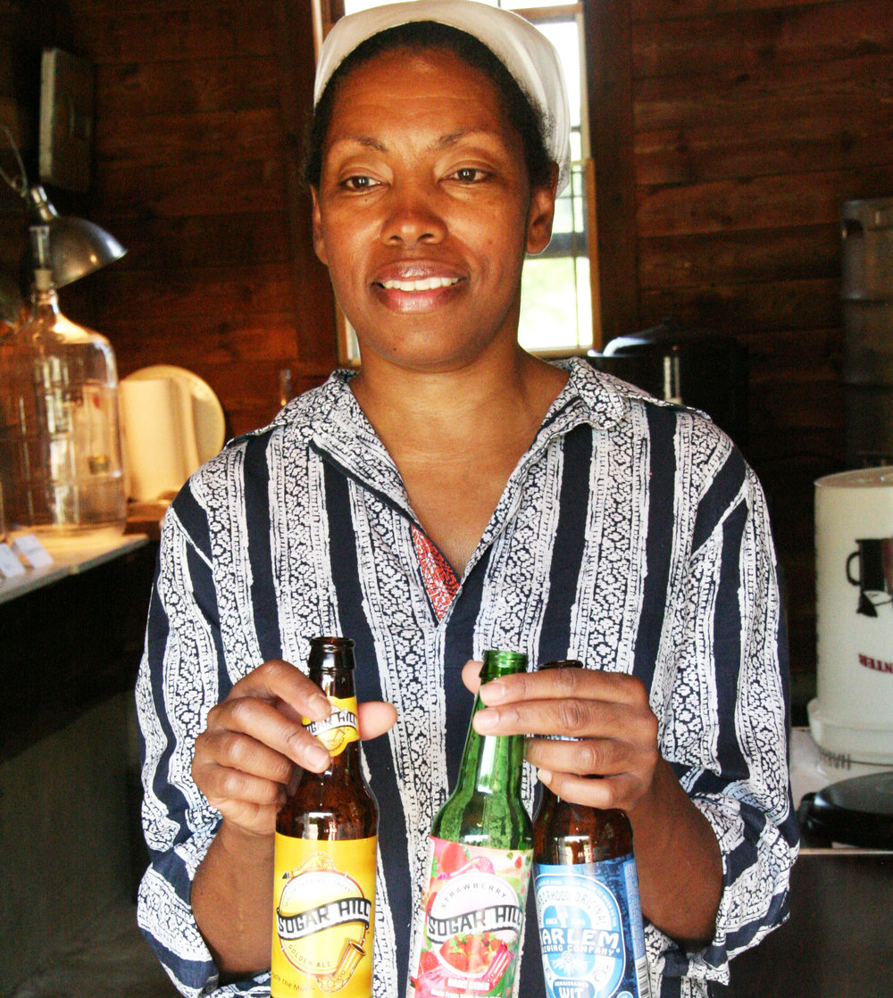 Celeste Beatty, Brewmaster & creator of Harlem Brewing Company -  Photo by Brittney M. Walker