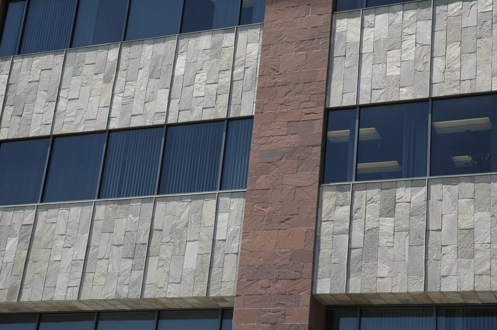 Nokia HQ –Burgundy Sandstone