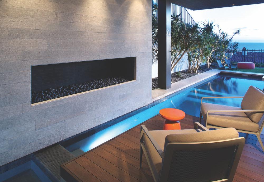 Private Residence – Lava Beach Pebbles