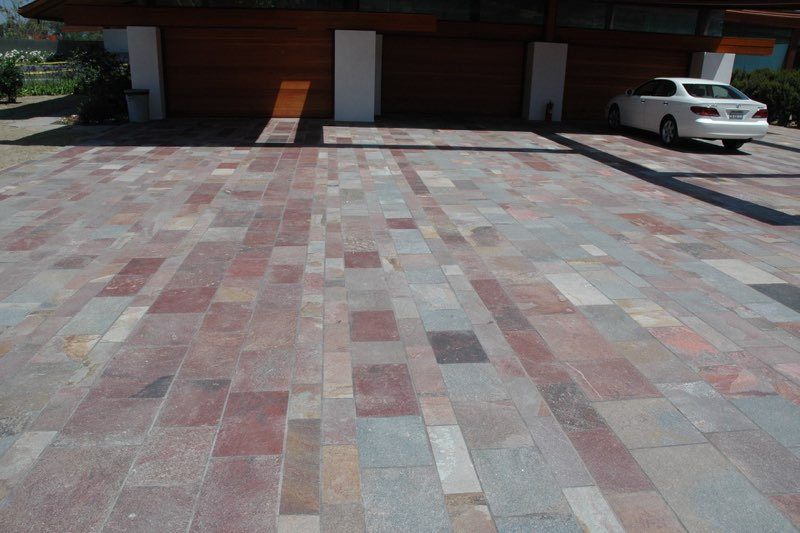 Private Residence –Mixed Red Porphyry