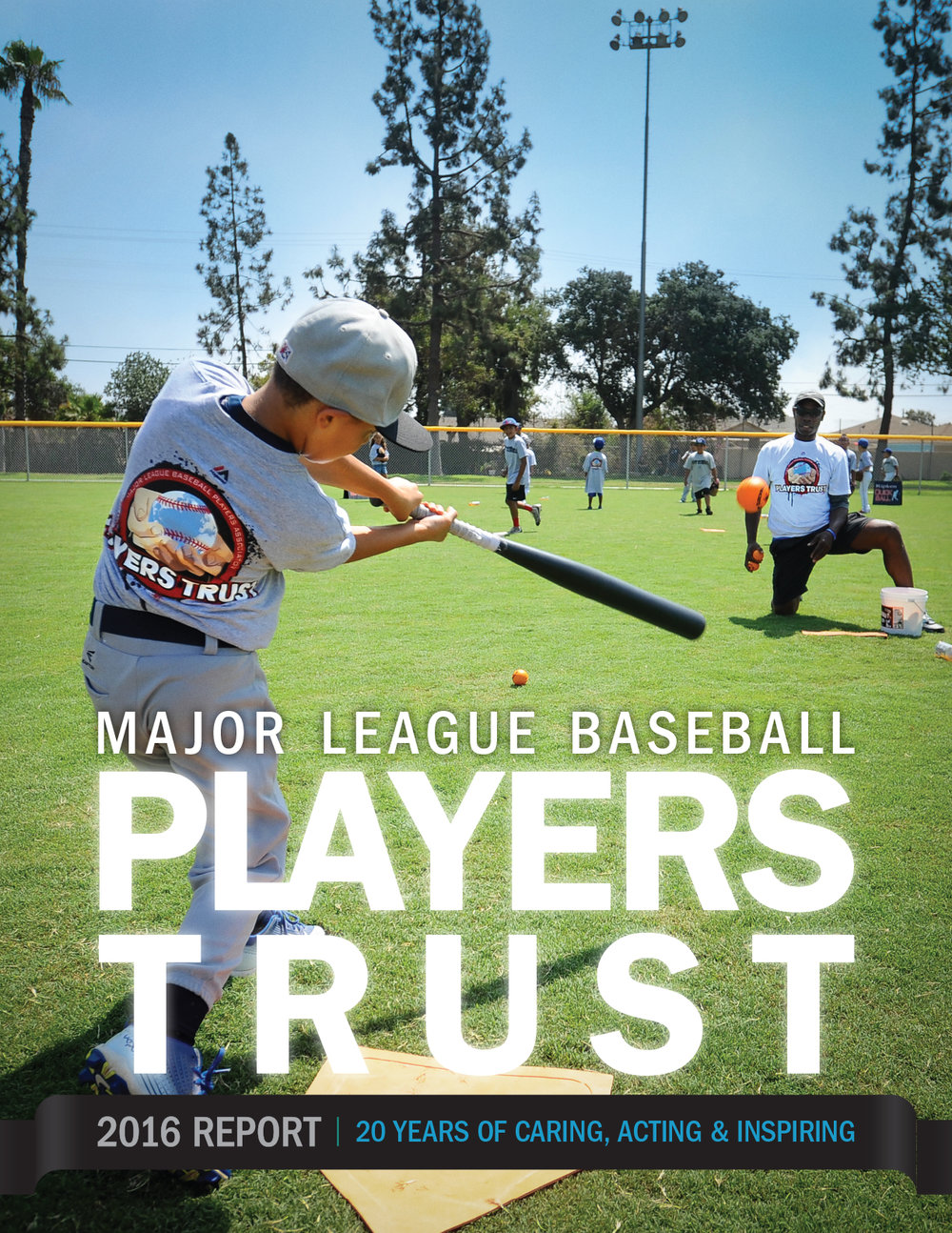 Major League Baseball Players Trust Annual Report by Petting Zoo