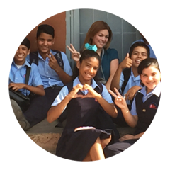 Escuelas Arquidiocesanas  Build 10 bathrooms for a boarding school with over 700 children.