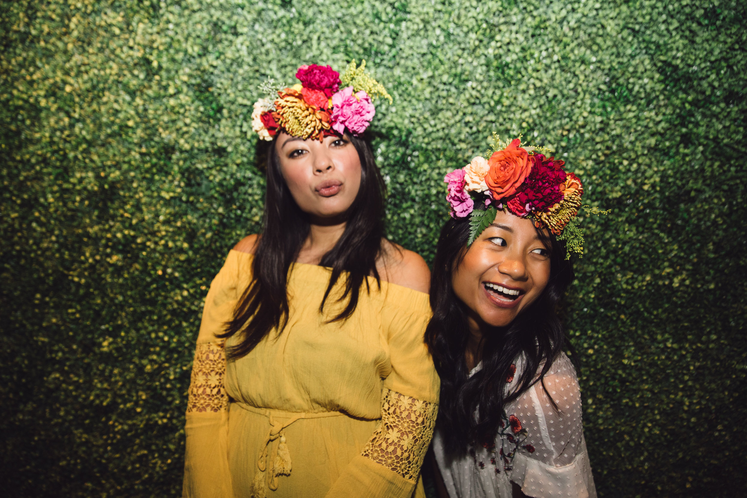 PINOT+PETALS Flower Crown Classes San Diego Southern California