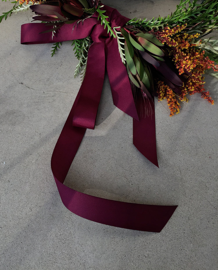 PINOT+PETALS October 4th wine and flower arranging fall wreaths diy