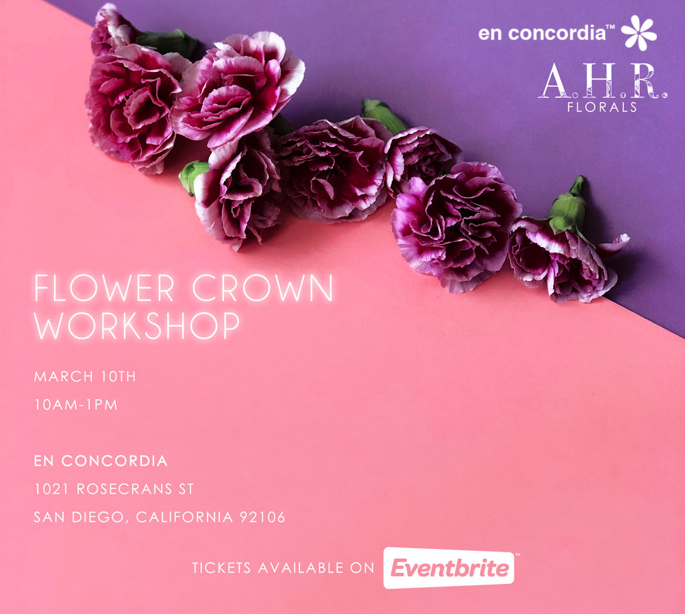 Flower Crown Workshop At En Concordia Ahr Florals