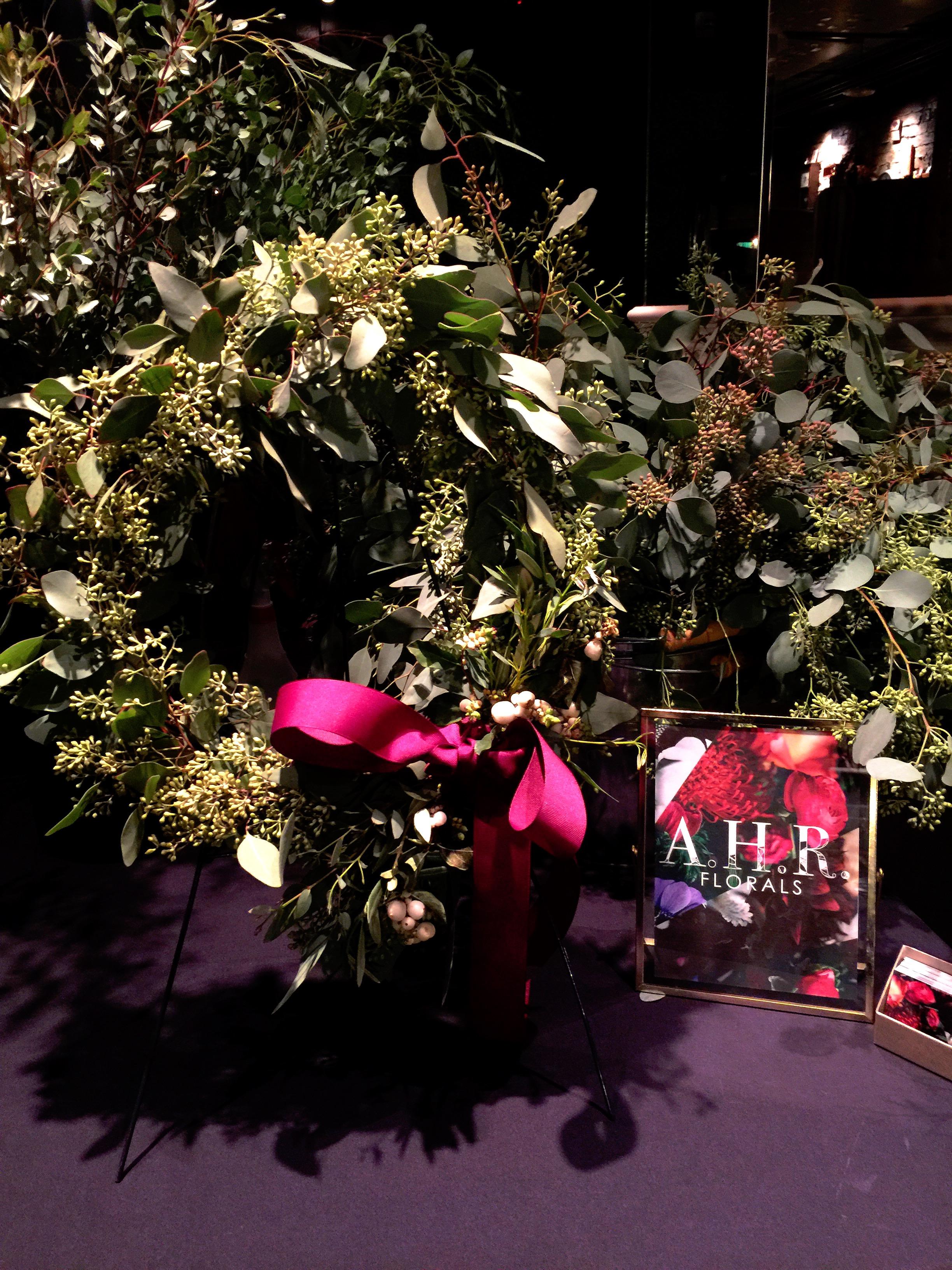 AHR FLorals Fall Wreaths eucalyptus
