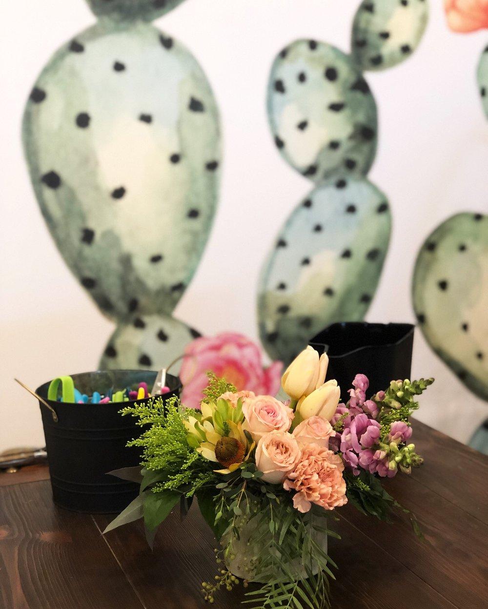 AHR Florals wine & flowers