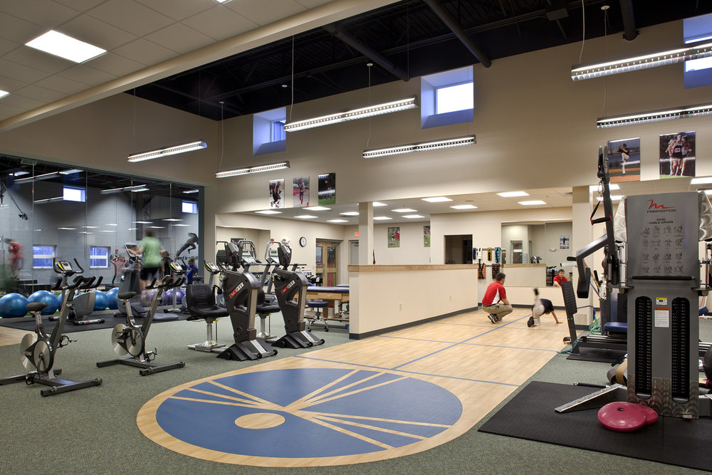 The facility contains an entire orthopaedic and sports medicine office, with an x-ray suite and PT center.