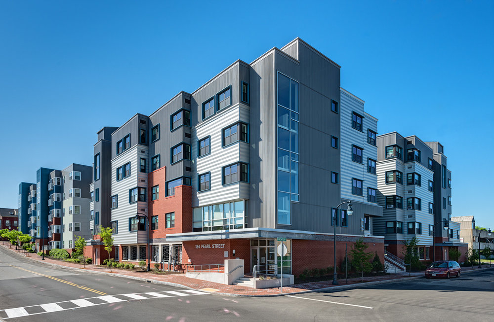 Avesta Housing, on the corner of Portland's Pearl and Lancaster Streets, is PDT's first LEED-Platinum project.