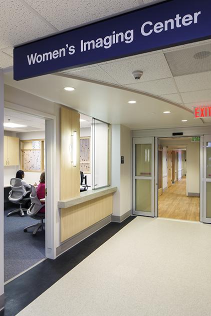 Women's Imaging Clinic checkin