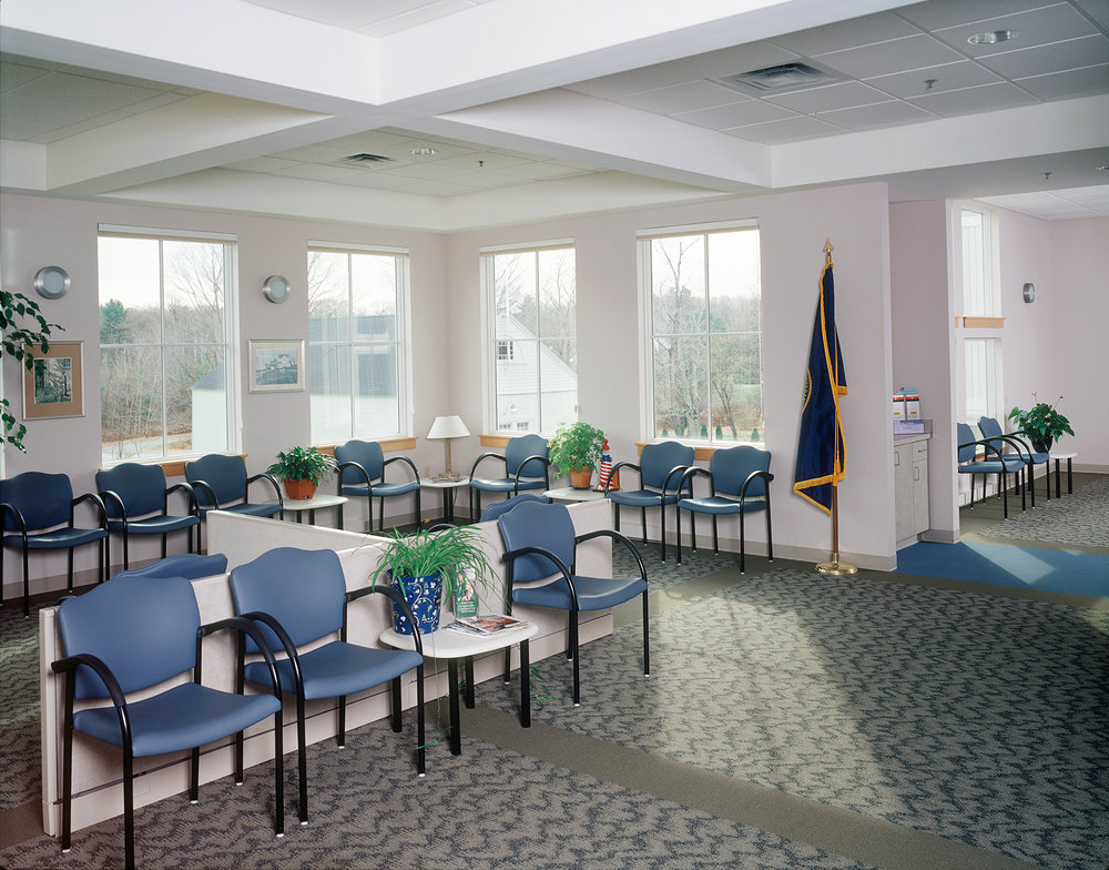 VA CBOC waiting room