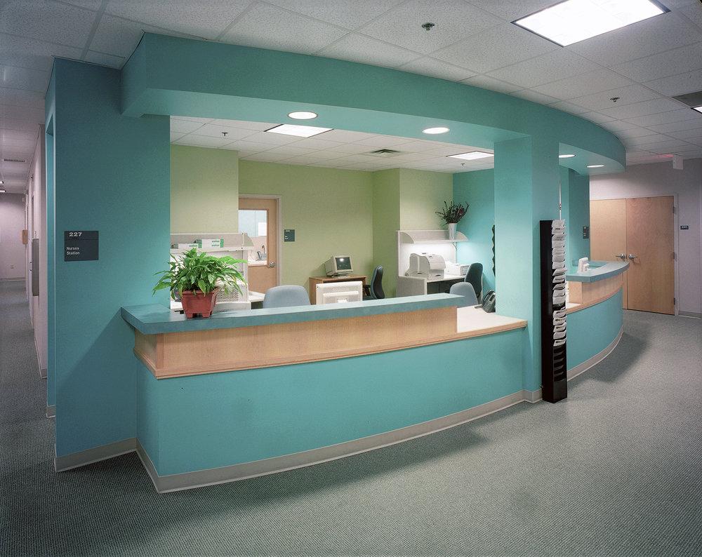 Central nurses' station