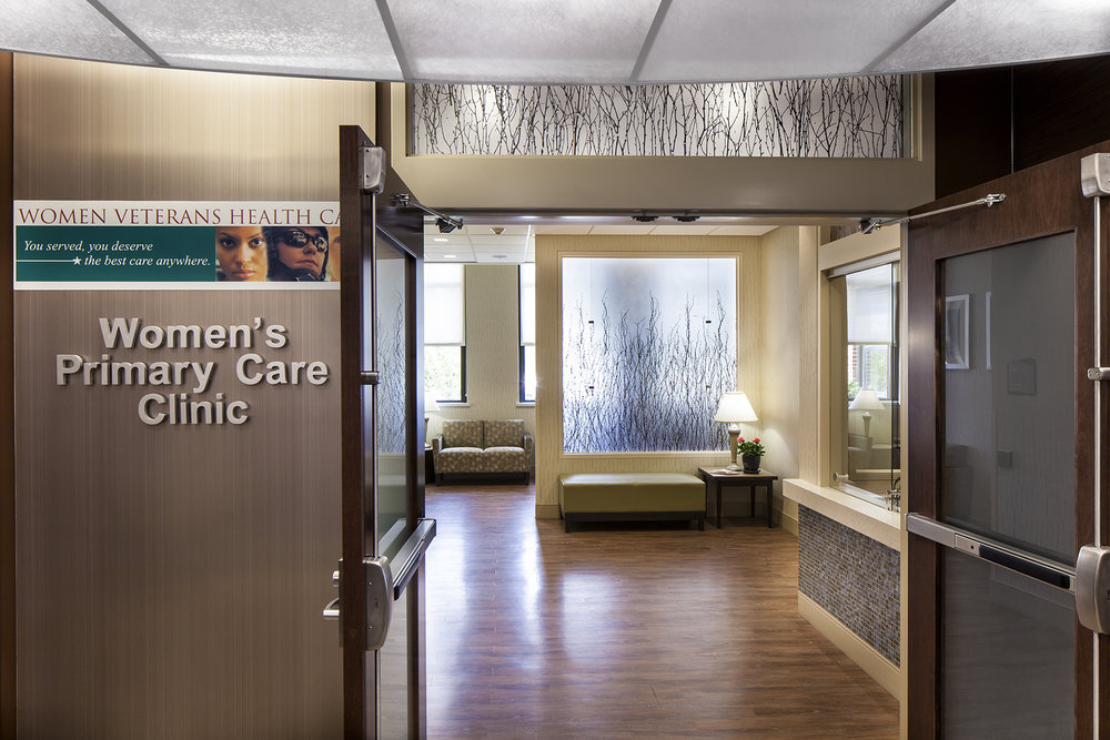 The Women's Primary Care Clinic consolidates women's services for the campus in a safe, dignified environment.